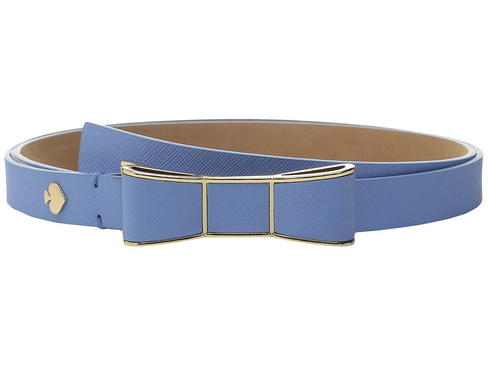 Kate Spade New York - 20mm Bow Belt (Alice Blue) Women's Belts