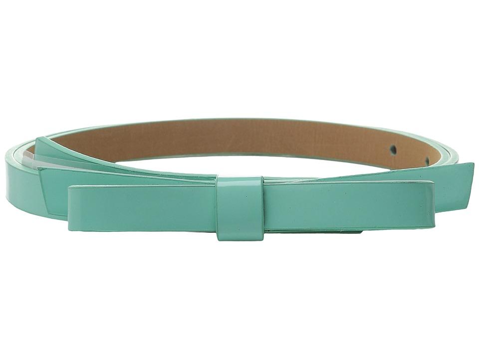 Kate Spade New York - 16mm Classic Bow Belt (Fresh Mint) Women's Belts