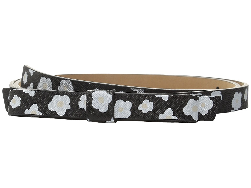Kate Spade New York - 16mm Naive Bow Belt (Black) Women's Belts
