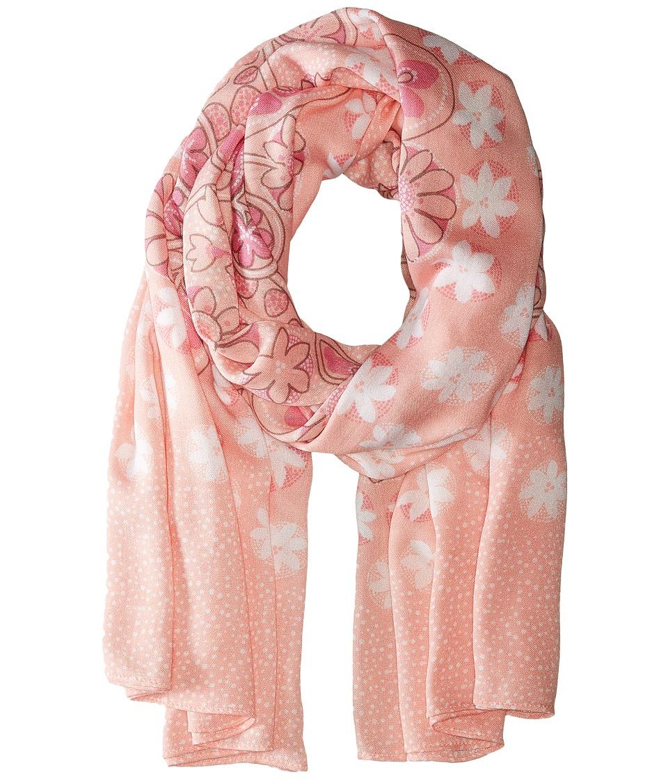 Vera Bradley - Oversized Scarf (Blush Pink) Scarves