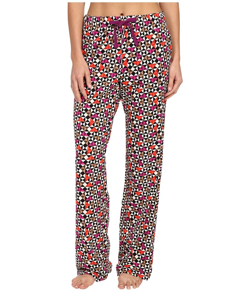 Vera Bradley - Knit Pajama Pants (Rosewood Chips) Women's Pajama