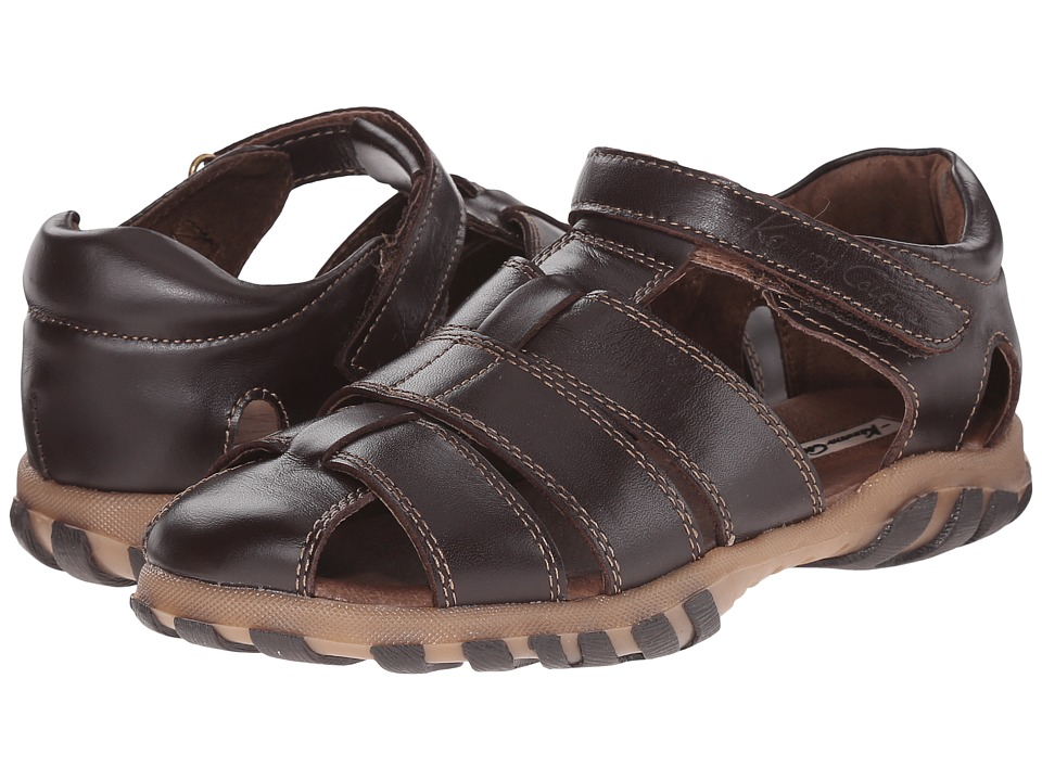 Kenneth Cole Reaction Kids - Ian Fisher (Little Kid/Big Kid) (Dark Brown) Boy's Shoes