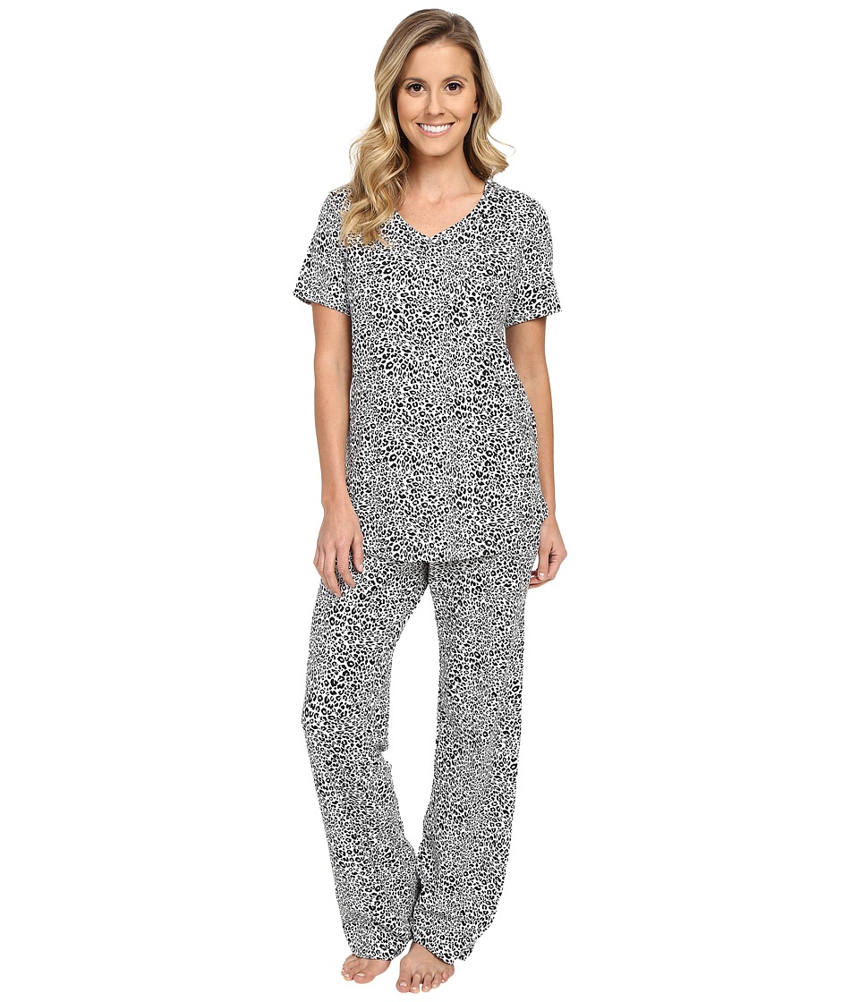 Vera Bradley - Knit Pajama Set (Camocat White) Women's Pajama Sets
