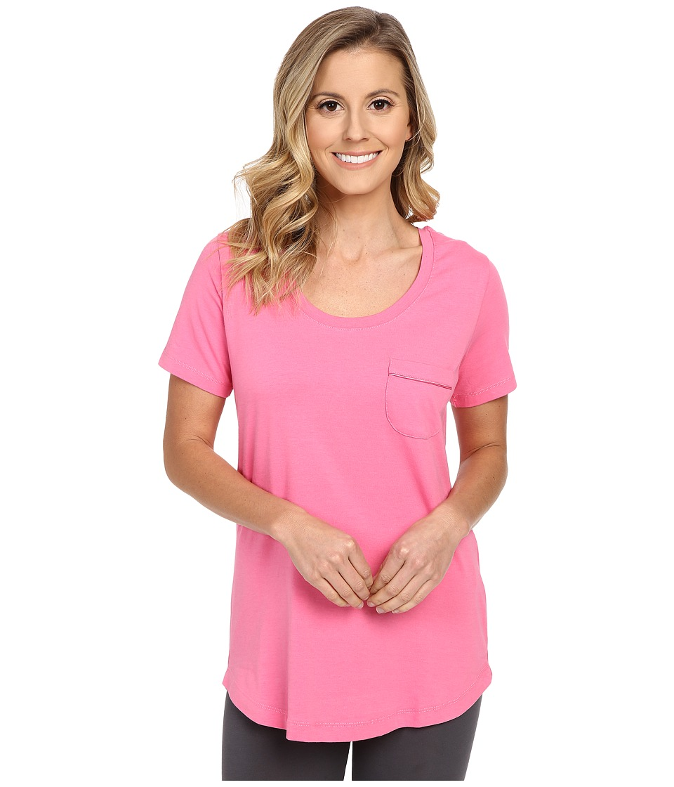 Vera Bradley - Knit Short Sleeve Pajama Tee (Blossom Pink) Women's Pajama