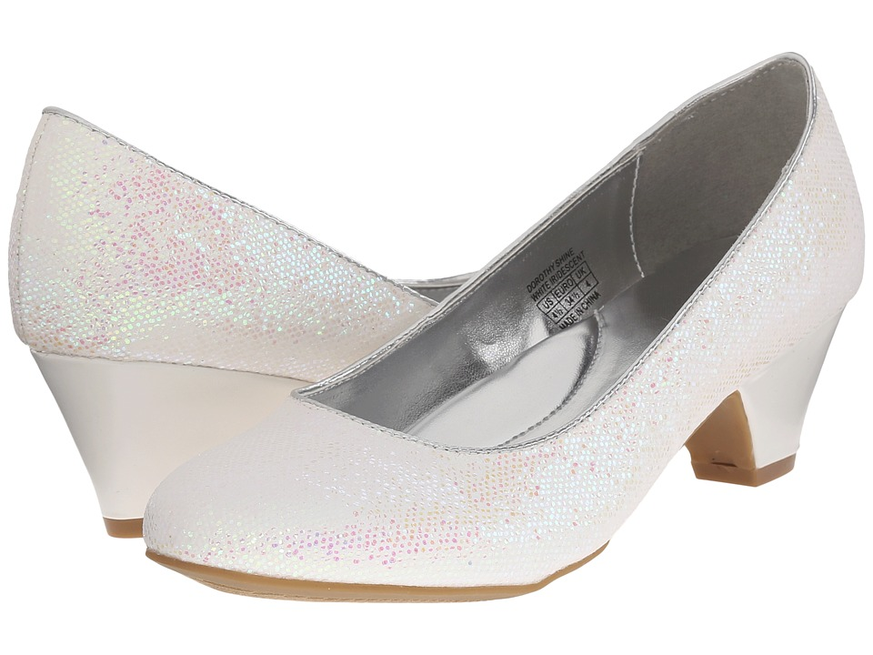 Kenneth Cole Reaction Kids - Dorothy Shine (Little Kid/Big Kid) (White Irridescent) Girl's Shoes