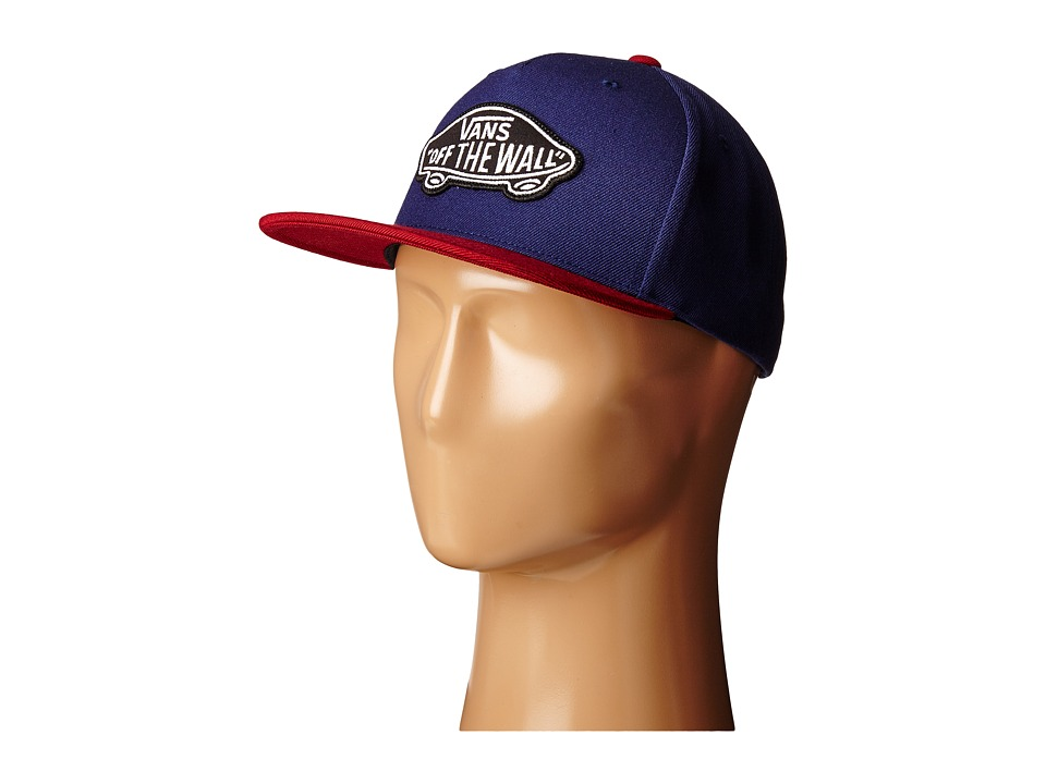 Vans - Classic Patch Snapback (Dress Blues/Rhubarb) Caps