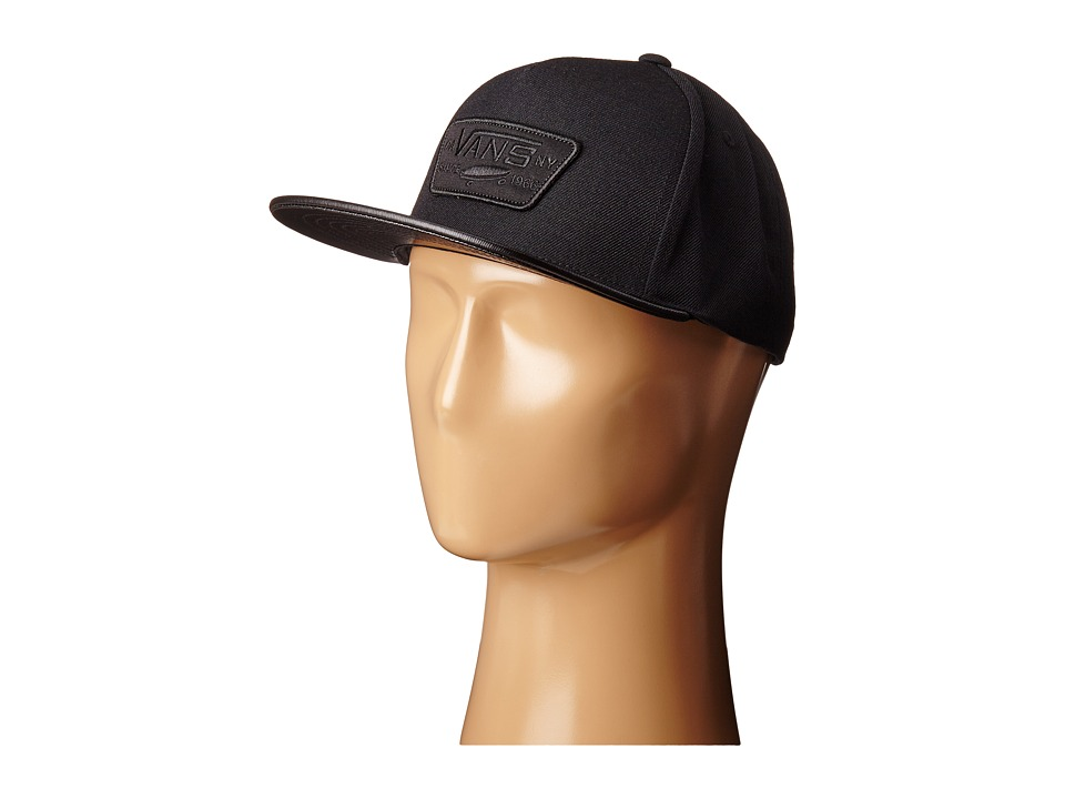Vans - Full Patch Snapback (Real Black) Caps