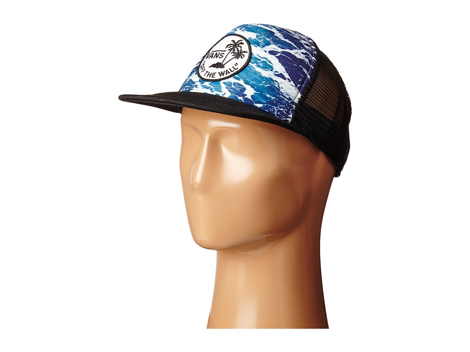 Vans - Surf Patch Trucker Hat (Backwash) Caps