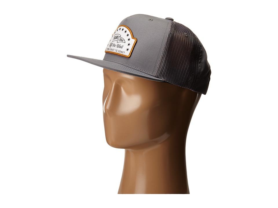 Vans - Hoy Snapback (Frost Grey) Baseball Caps