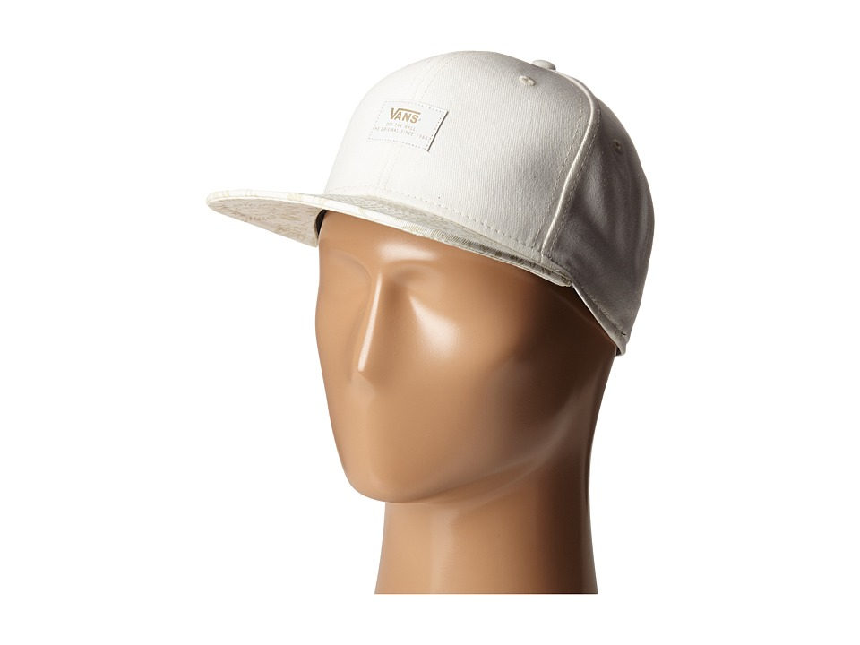 Vans - 50th 6 Panel Snapback (Classic White) Caps