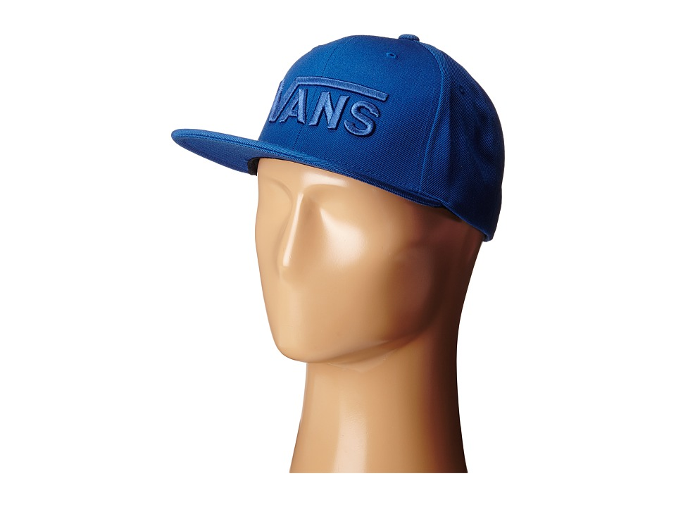 Vans - Drop V Snapback Hat (True Blue) Caps