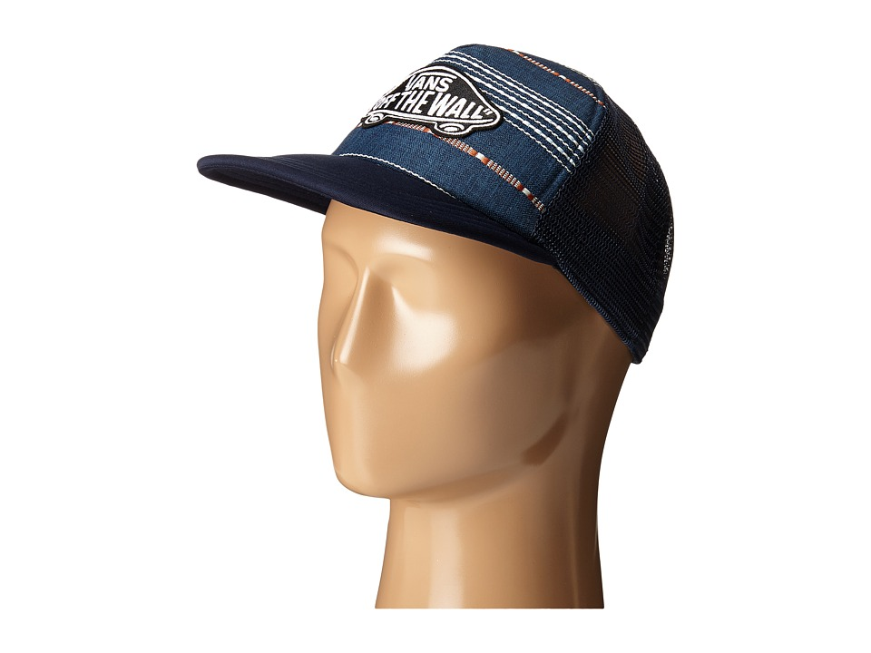 Vans - Classic Patch Trucker Plus (Dress Blues Dobby) Caps