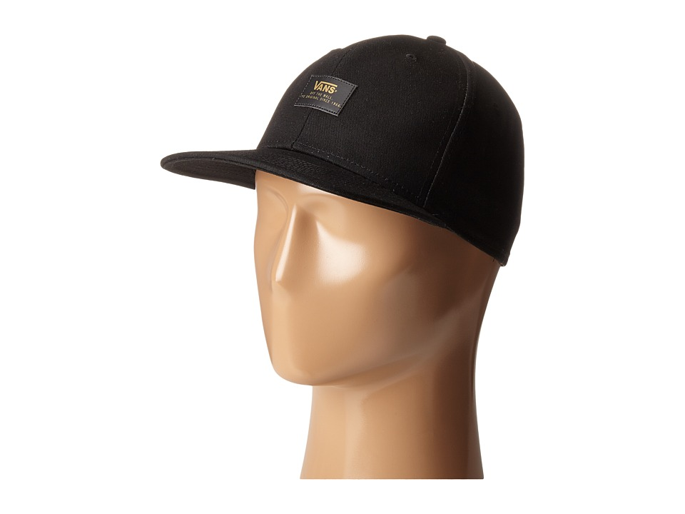 Vans - 50th 6 Panel Snapback (Black) Caps