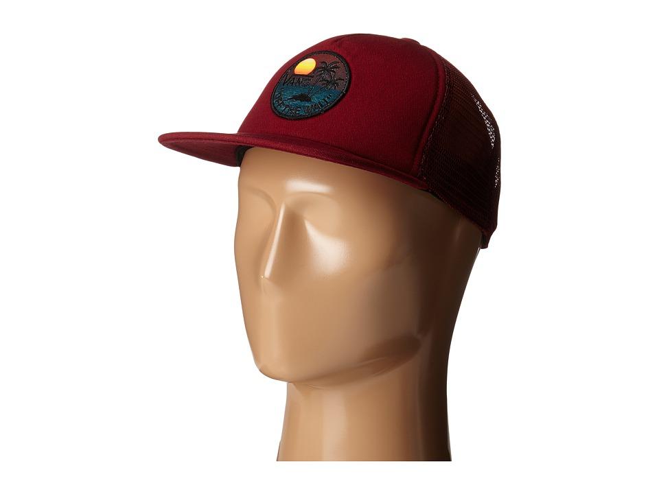 Vans - Stay Classic Trucker (Cardinal) Caps