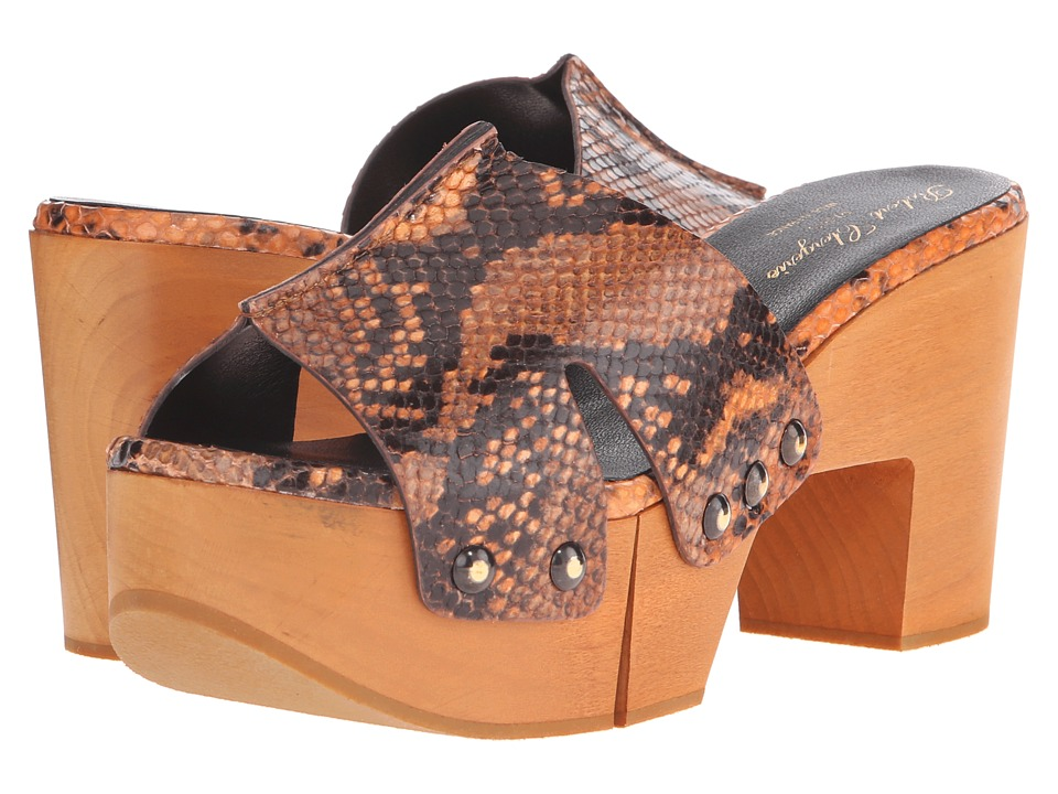 Robert Clergerie - Cetrid (Salmon Jungle Print) Women's Shoes