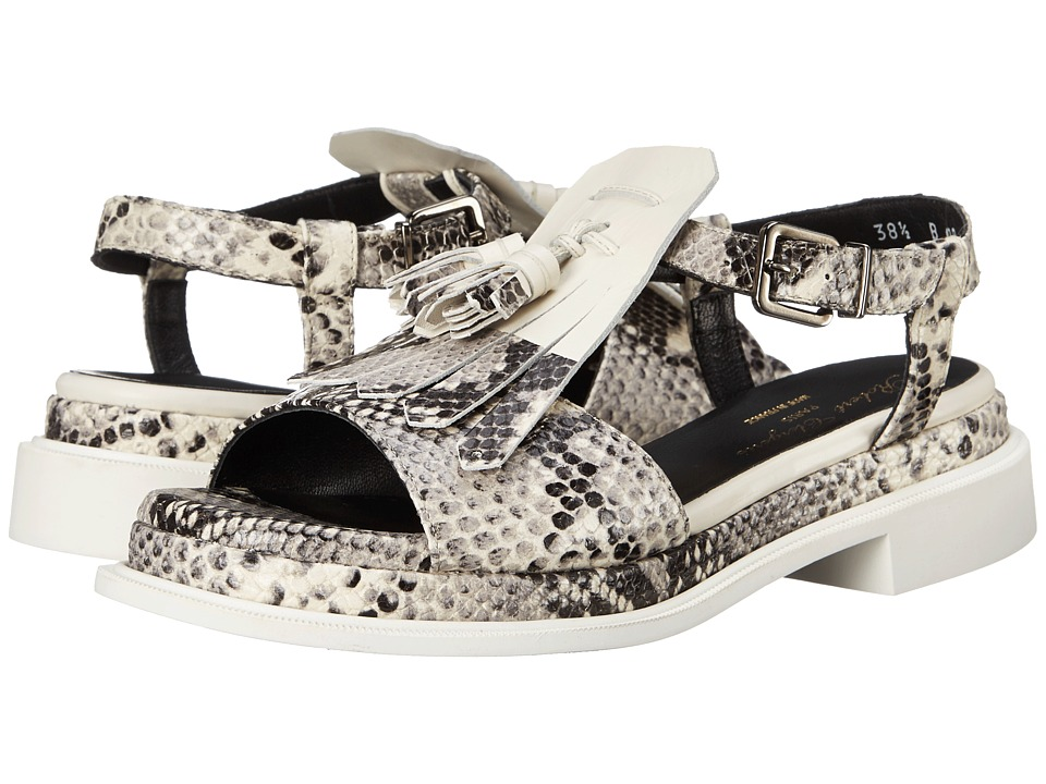 Robert Clergerie Coco (Black/White Jungle Print) Women