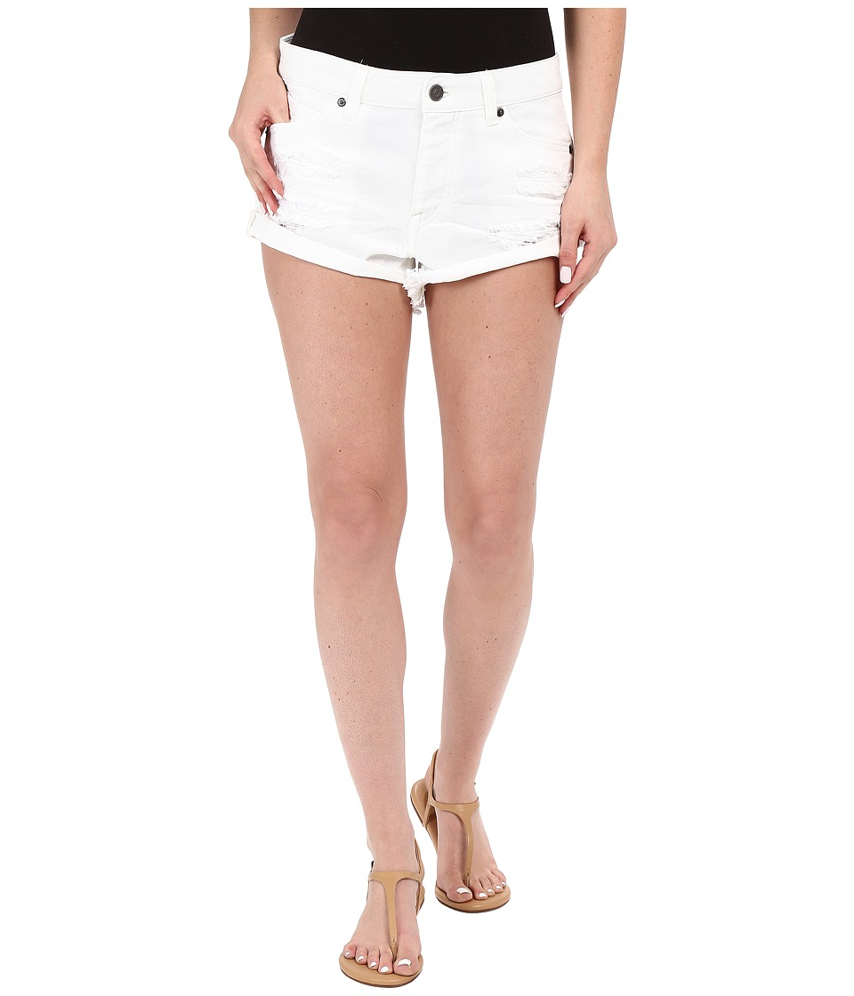 Volcom - Stoned Rolled Shorts (White) Women's Shorts