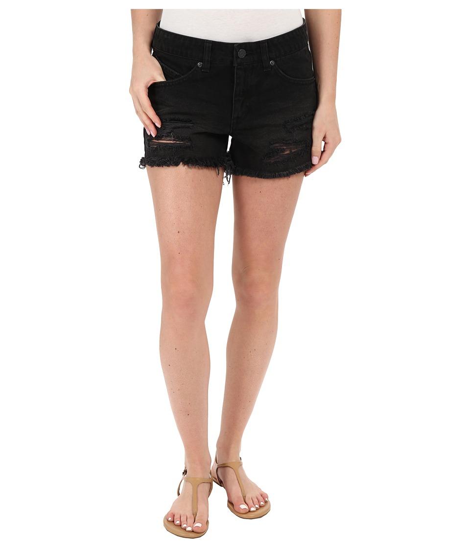 Volcom - Stoned Shorts 3 (Worn Black) Women's Shorts