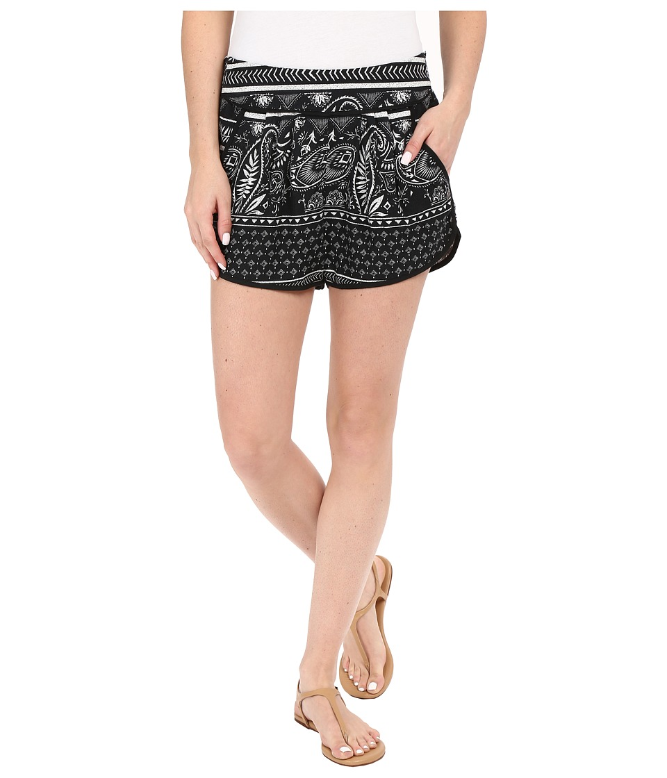 Roxy - Diamond Sky Shorts (Cashmere Border Combo/True Black) Women's Shorts