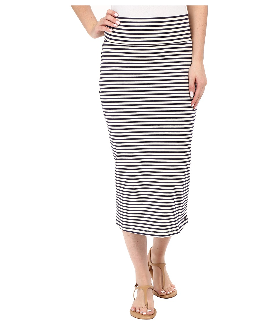 Roxy - Bolsa Chica Solid Skirt (Small Stripe Eclipse) Women's Skirt