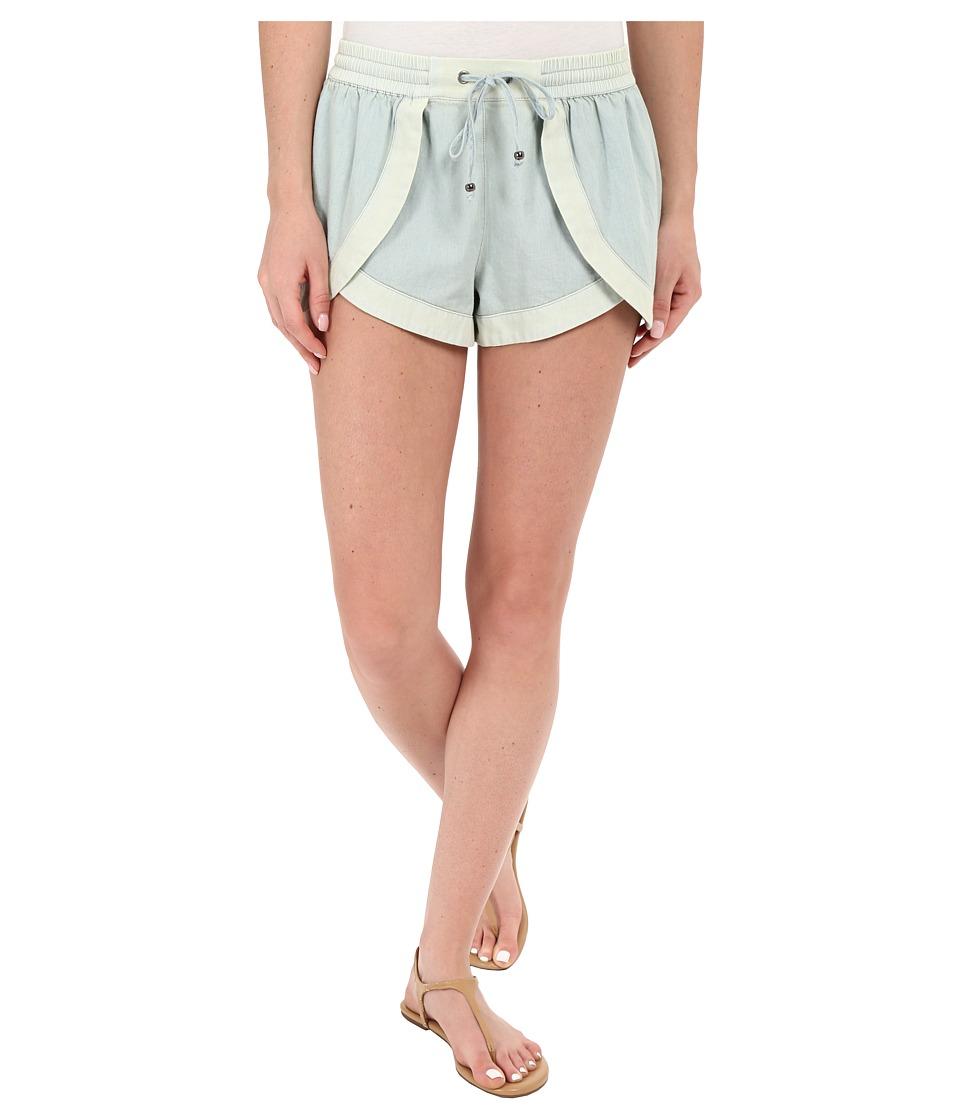 Volcom - Oh Hello Shorts (Dust Bowl Indigo) Women's Shorts