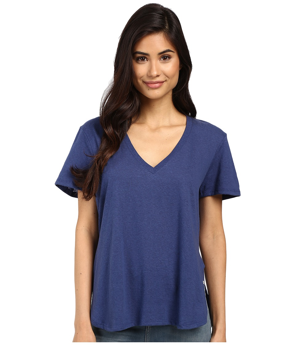 Volcom - Deep Dish Tee (Navy) Women's T Shirt