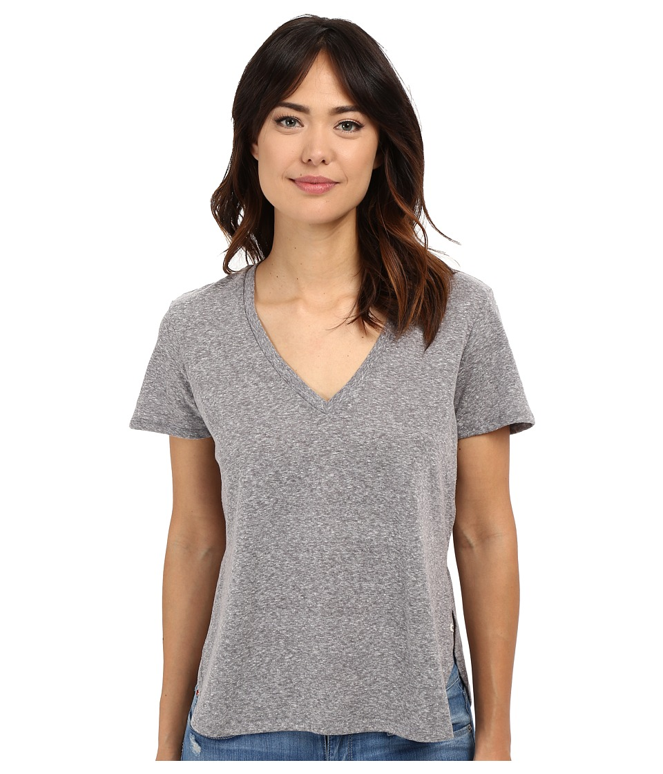 Volcom - Deep Dish Tee (Heather Grey) Women's T Shirt