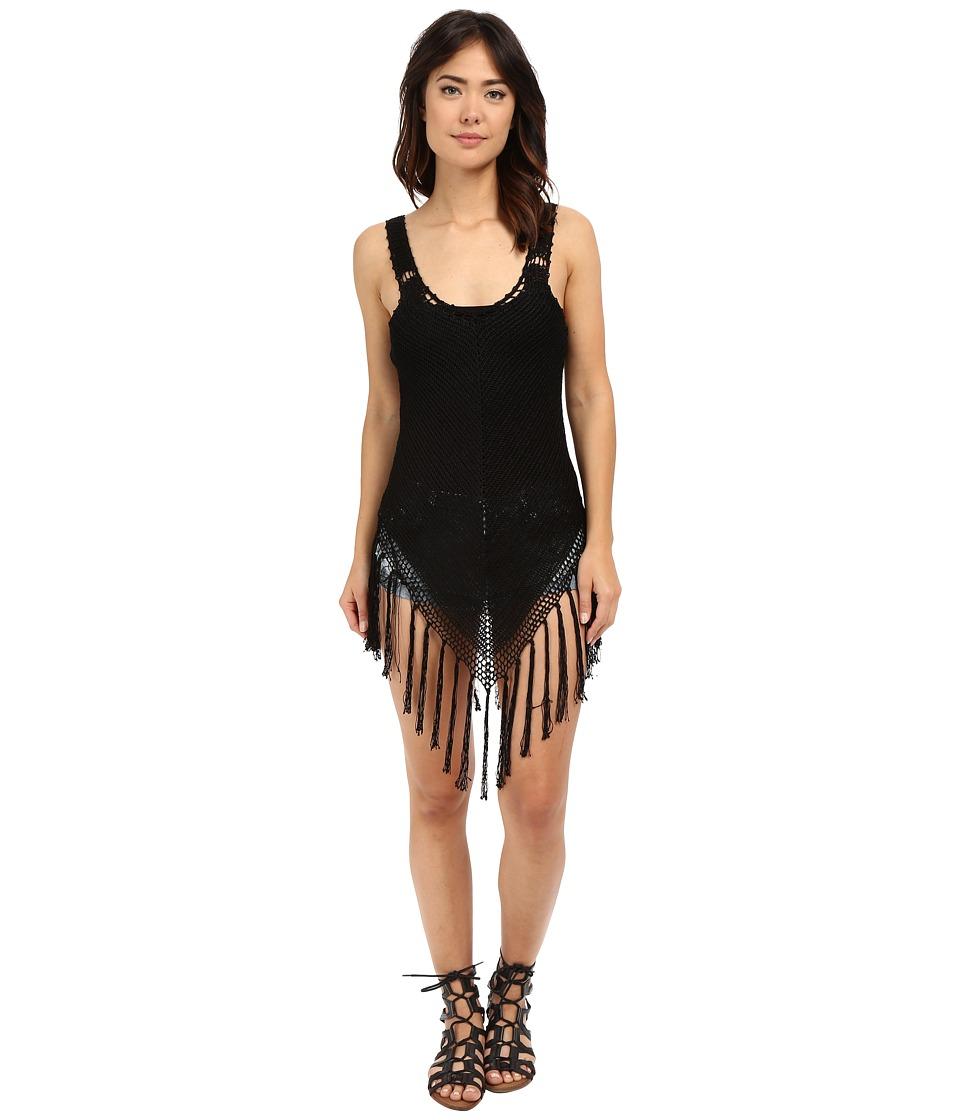 Volcom - Coastin Baby Tunic (Black) Women's Clothing