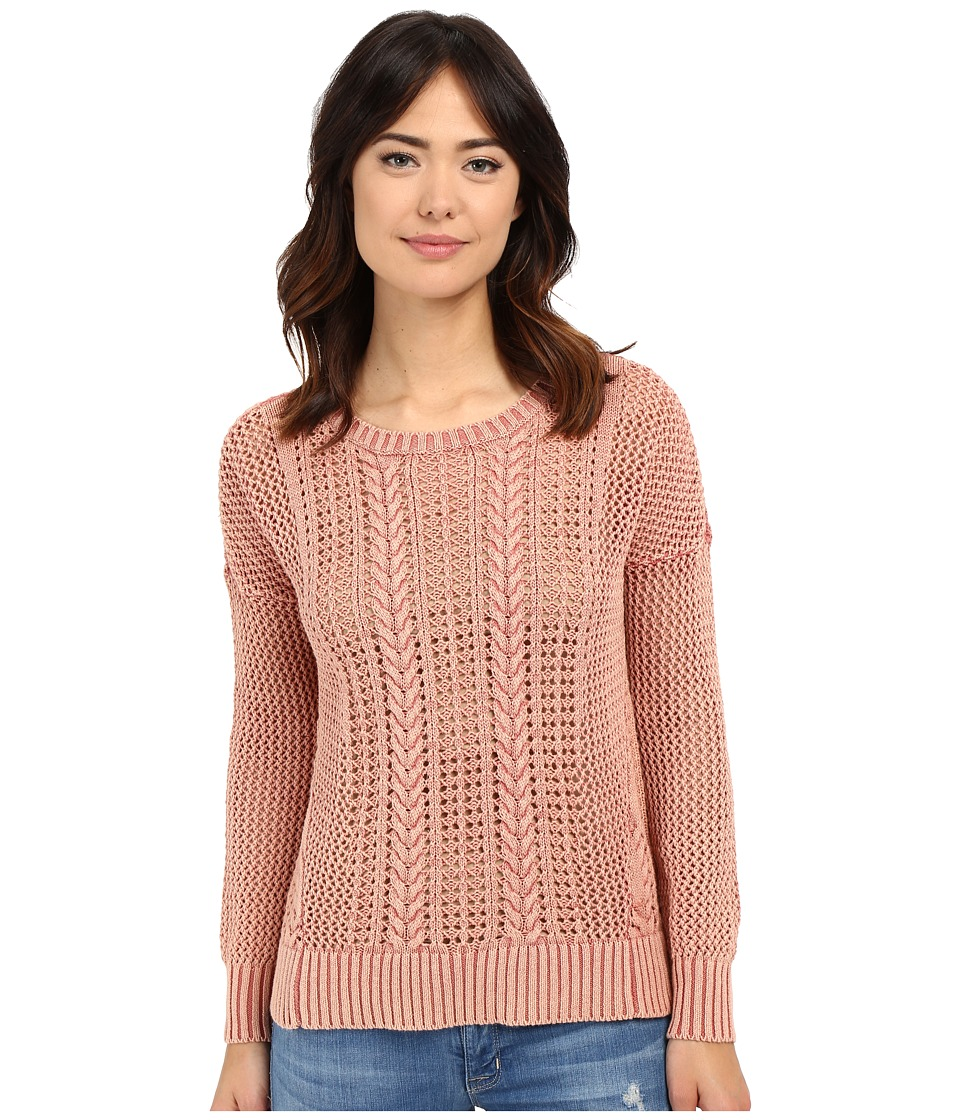 Volcom - Restless Ties Pullover (Sand Brown) Women's Sweater