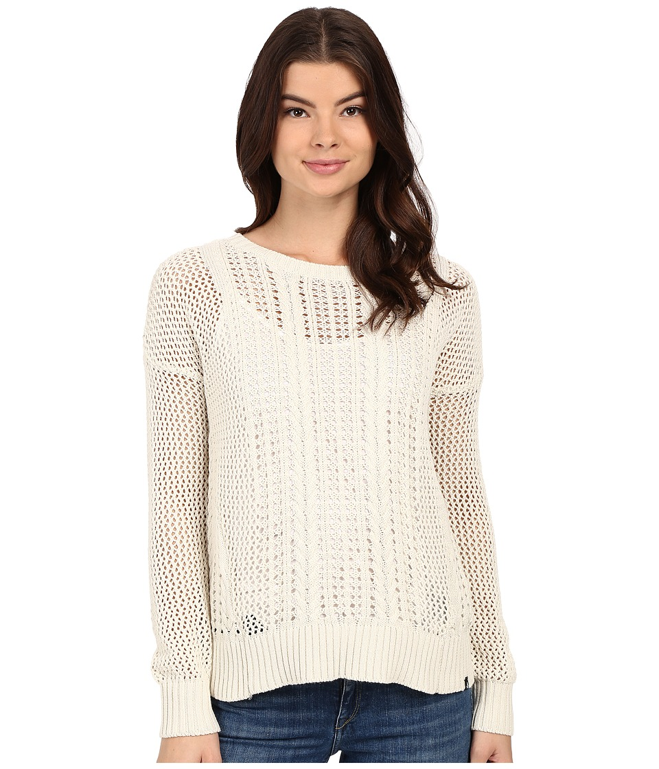 Volcom - Restless Ties Pullover (Bone) Women's Sweater