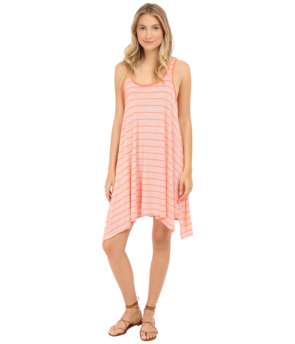 Volcom First Sail Tee Dress (Grapefruit) Women