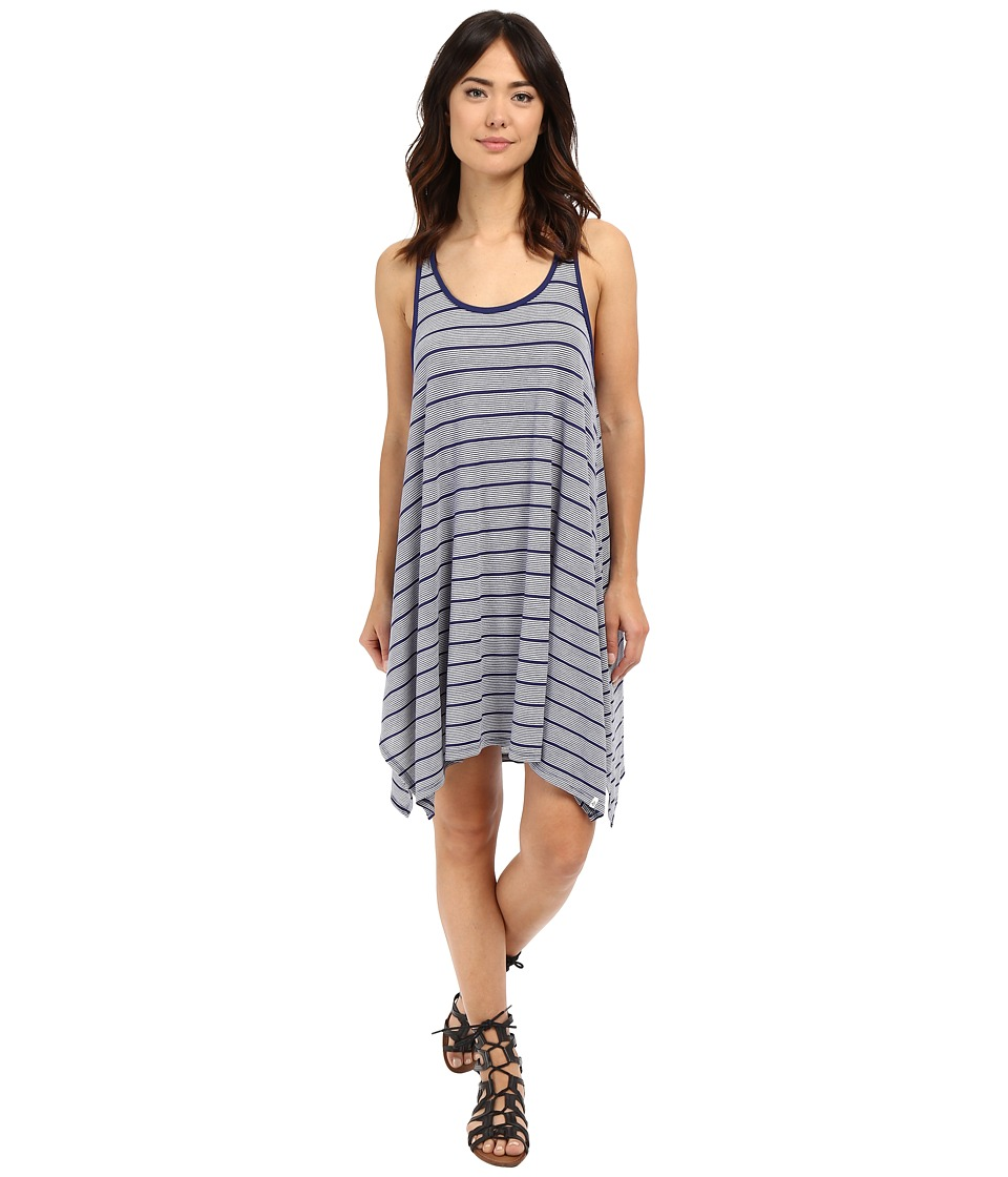 Volcom First Sail Tee Dress (Navy) Women