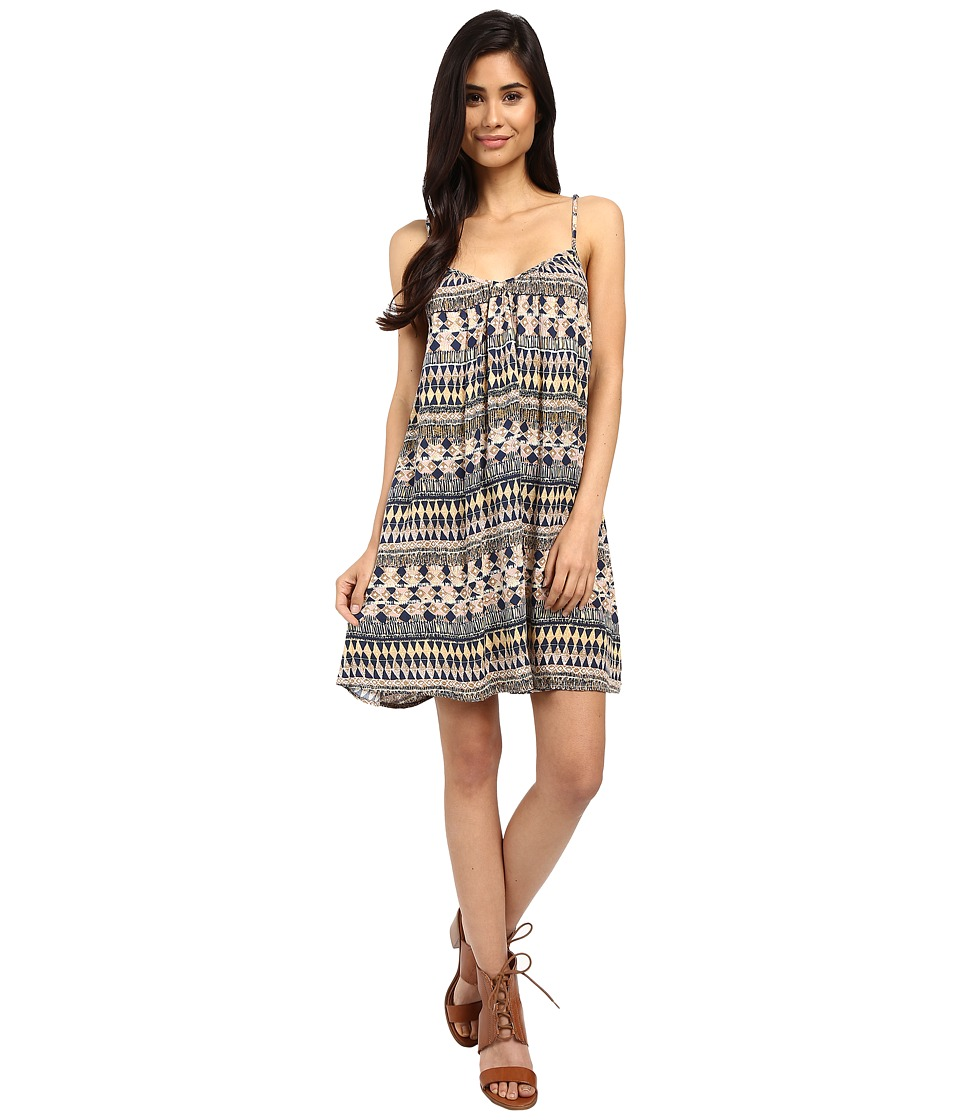 Volcom - Back For U Dress (Navy) Women's Dress