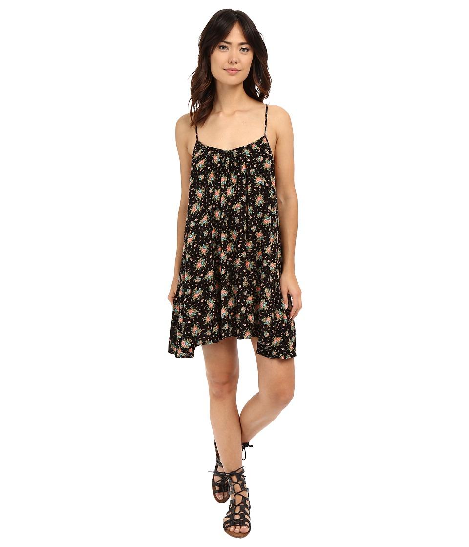 Volcom - Back For U Dress (Black) Women's Dress