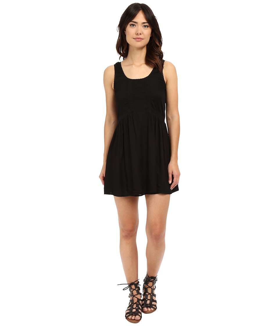 Volcom - Starfish Dress (Black) Women's Dress