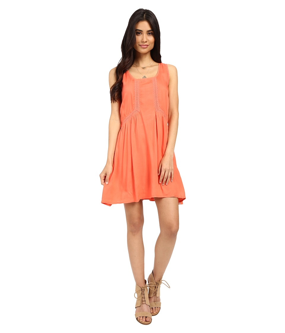 Volcom - Starfish Dress (Grapefruit) Women's Dress