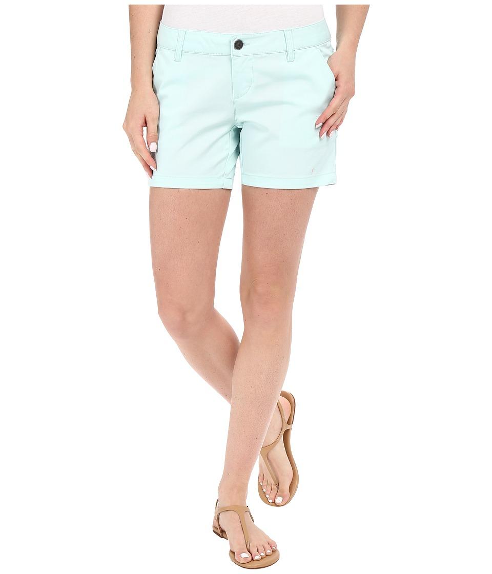 Volcom - Frochickie 5 Shorts (Bleached Aqua) Women's Shorts