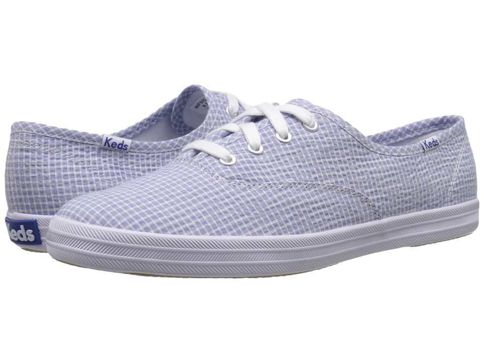 Keds - Champion Shirting (Blue) Women