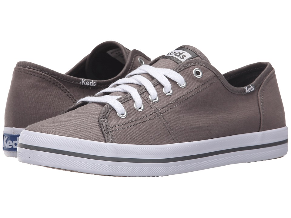Keds - Kickstart Chambray (Pewter Canvas) Women