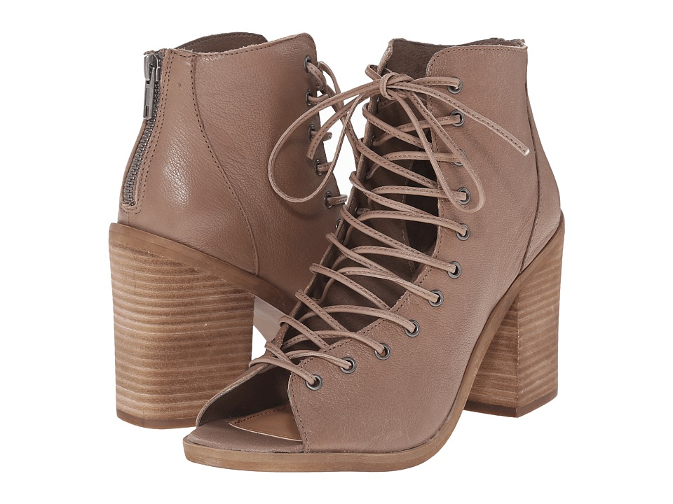 Steve Madden Temptng (Stone Leather) High Heels