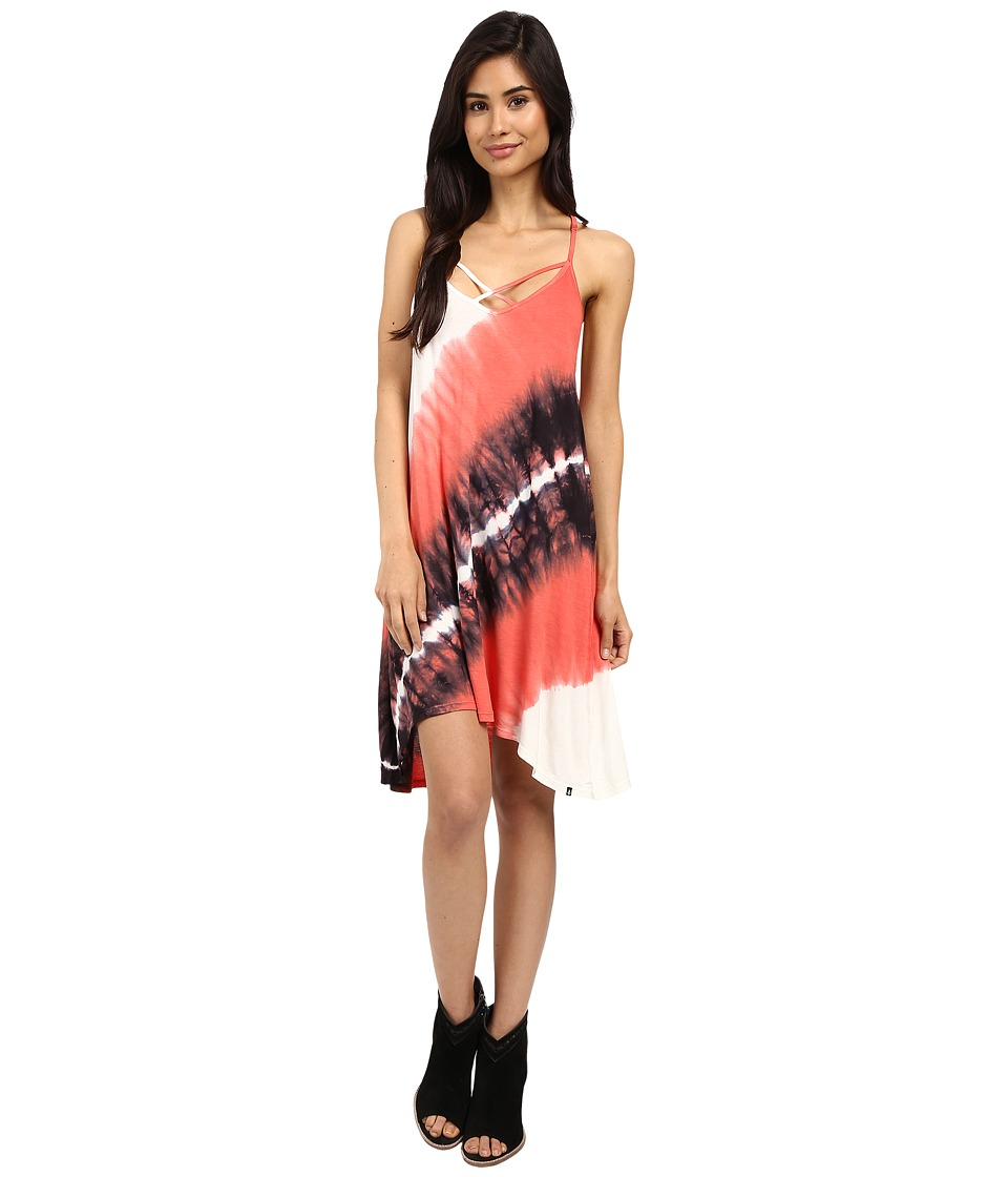 Volcom - Paintbox Dress (Grapefruit) Women's Dress