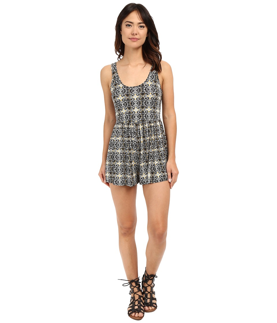 Volcom - Guilty One Romper (Black) Women's Jumpsuit & Rompers One Piece