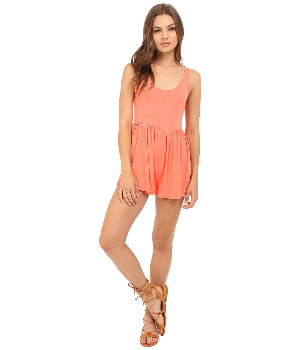 Volcom - Guilty One Romper (Grapefruit) Women's Jumpsuit & Rompers One Piece