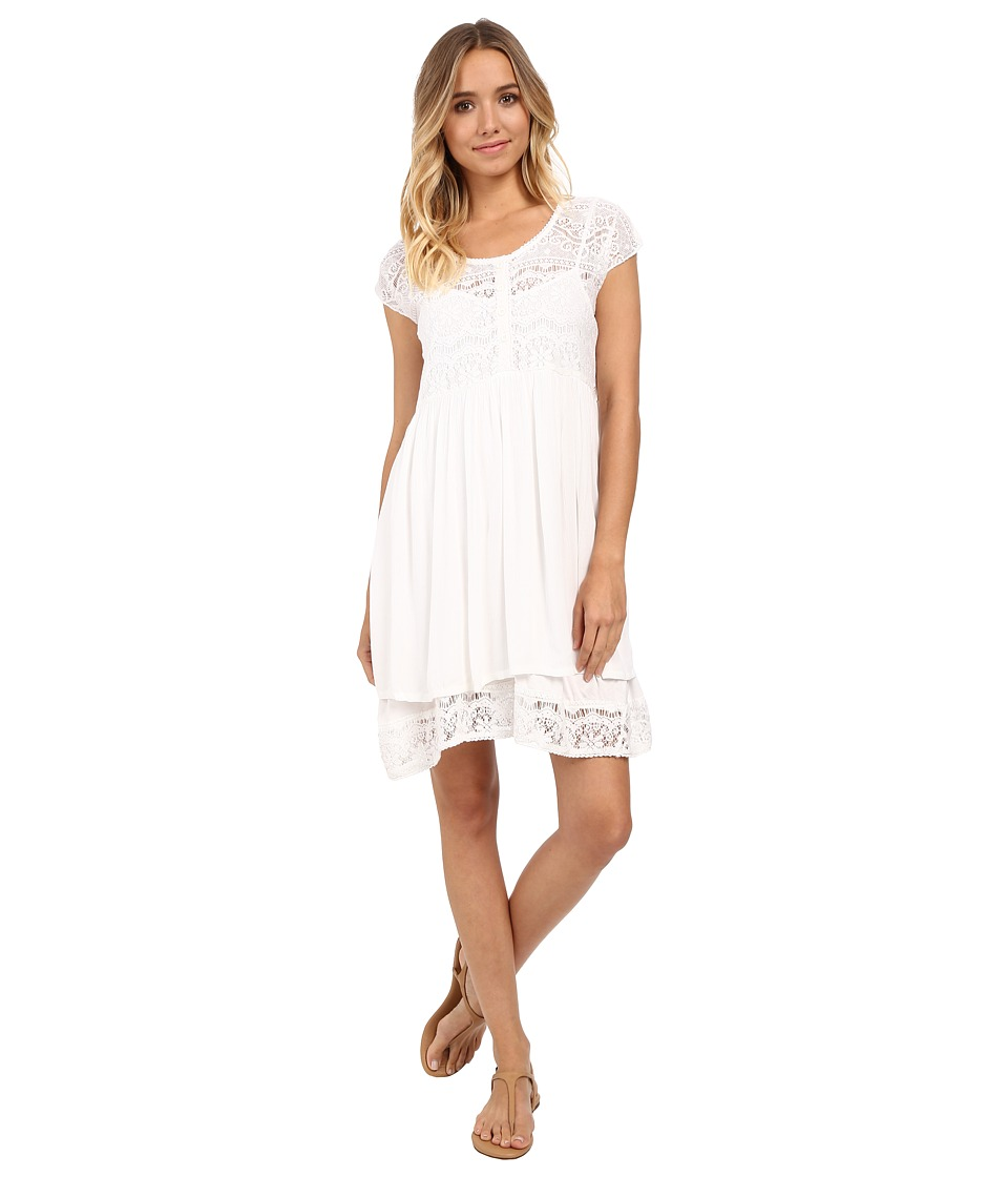 Volcom - Cactus Flower Dress (White) Women's Dress