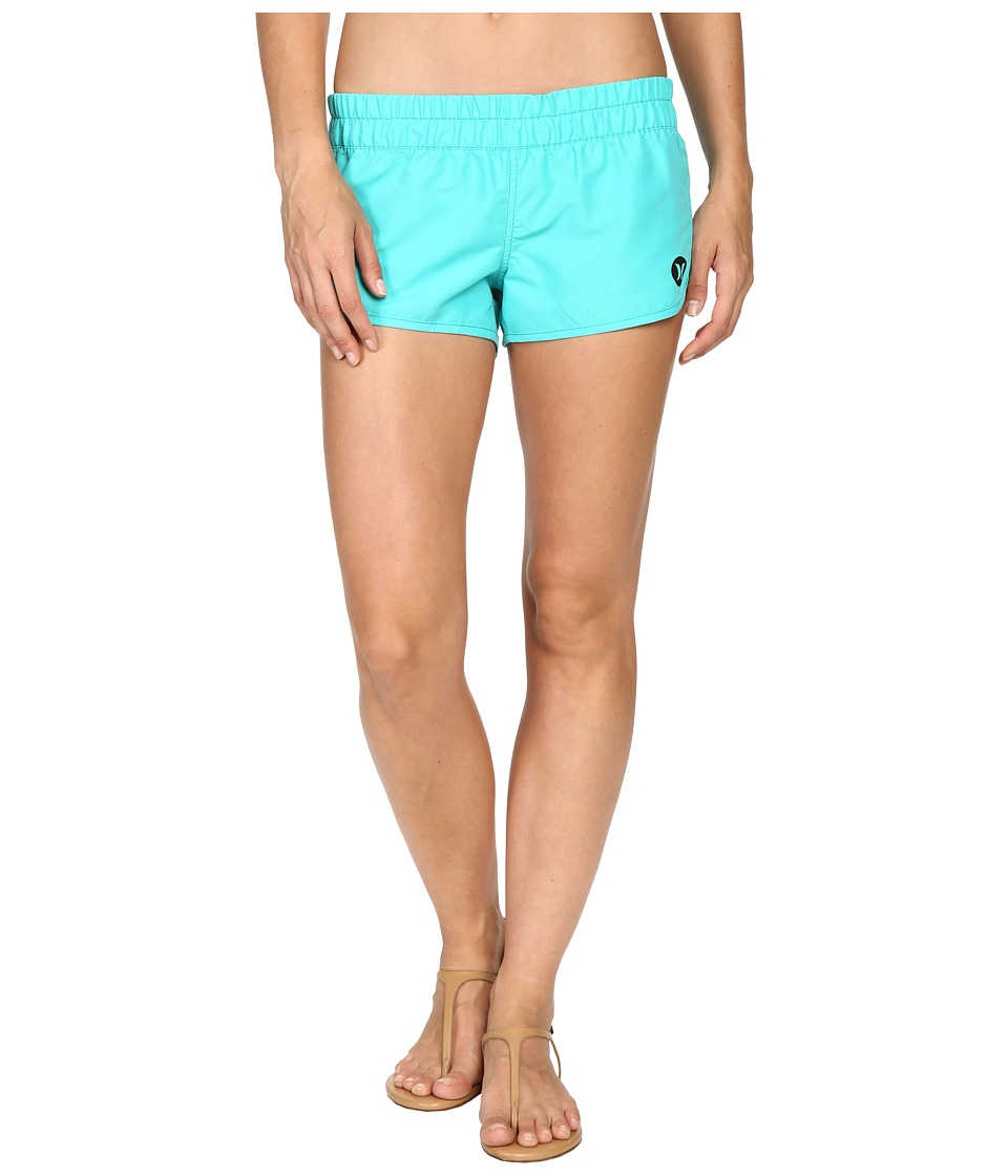 Hurley - Supersuede Solid Beachrider (Hyper Jade) Women's Swimwear