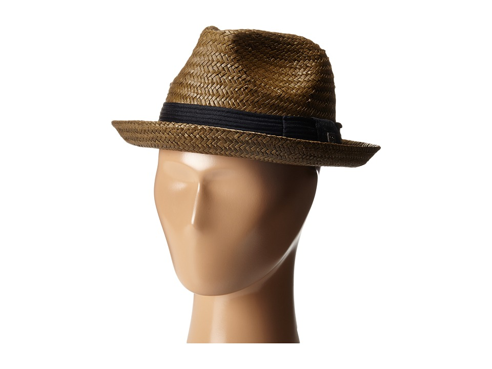 Brixton - Castor Fedora (Light Brown) Traditional Hats