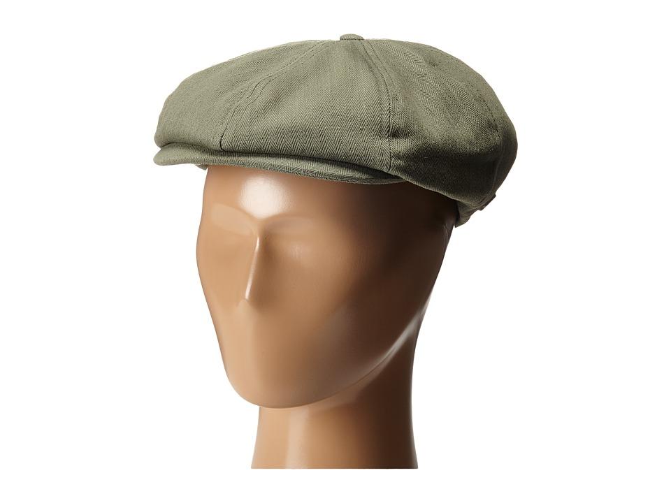 Brixton - Brood Snap Cap (Light Olive) Caps