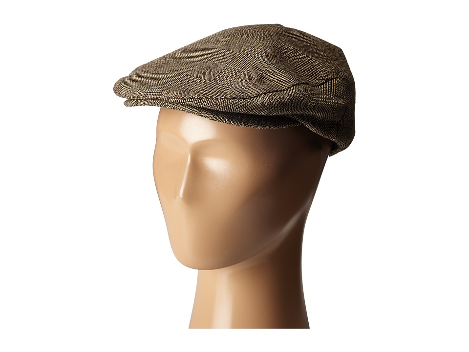 Brixton - Hooligan Snap Cap (Tan Plaid) Caps
