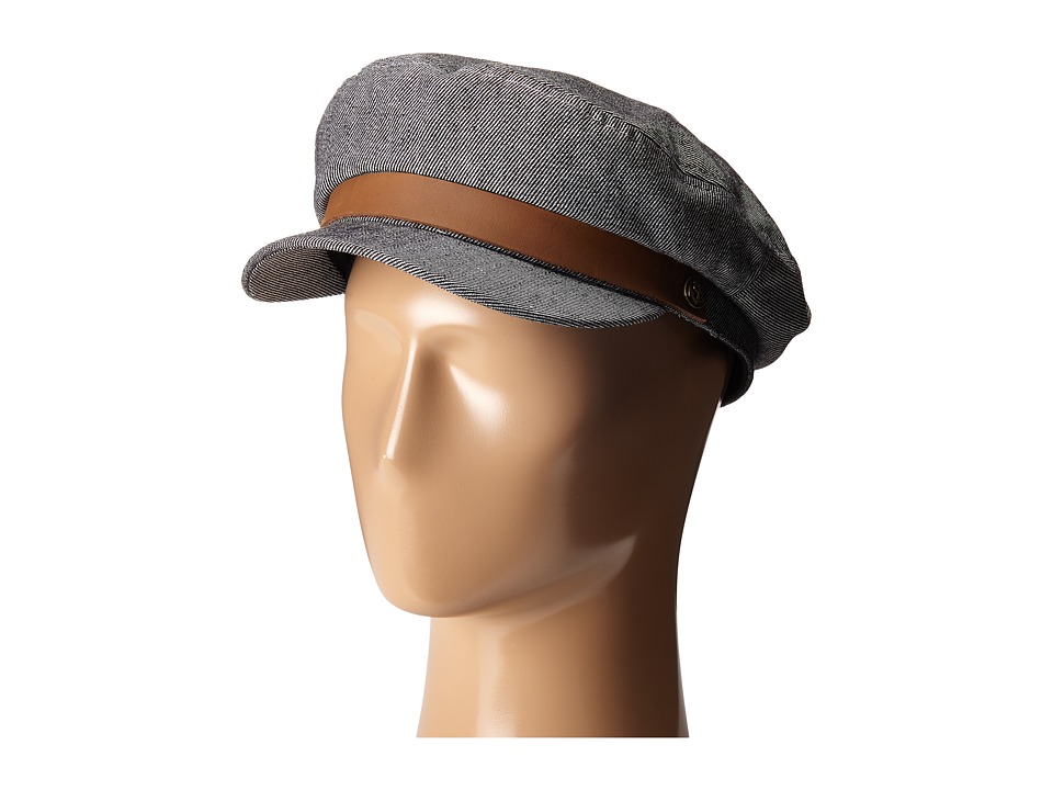 Brixton - Fiddler Cap (Navy/Stripe) Caps