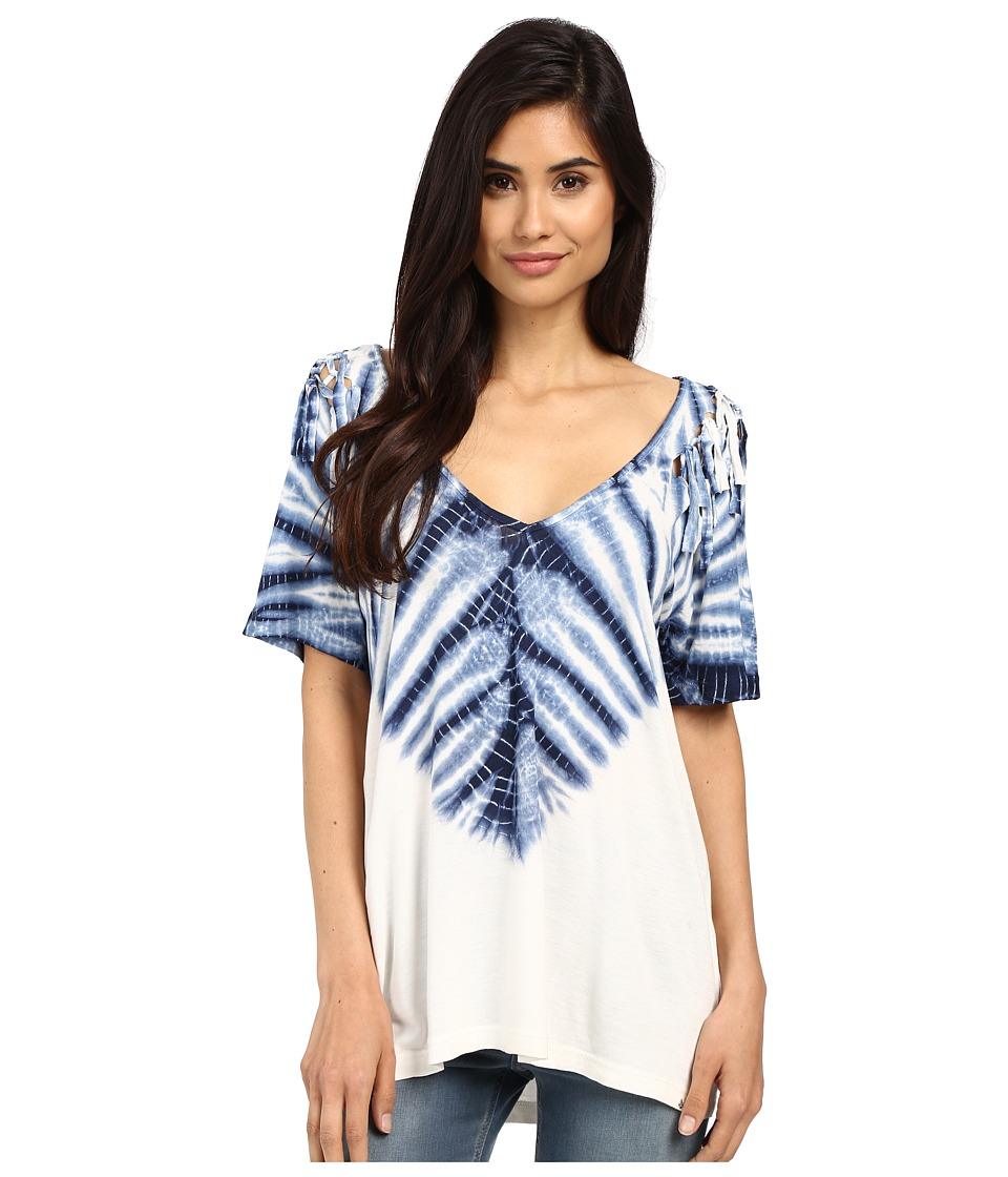 Volcom - Knot Happening Top (White) Women's T Shirt
